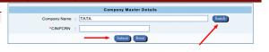 Company Master Data