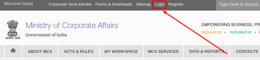 Ministry Of Corporate Affairs - MCA Services - Chromium_003