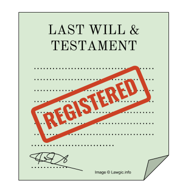 Registration of a Will or Codicil in India